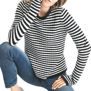 Madewell Stripe Sweater Size Large